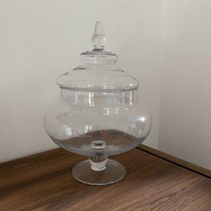 Bonbonnière en verre